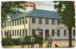 Den gamle Grænsekro ved Frederikshøj var dansk toldsted