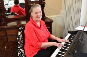 Bente Ibenfeldt leverer musikken til Julens smukke melodier